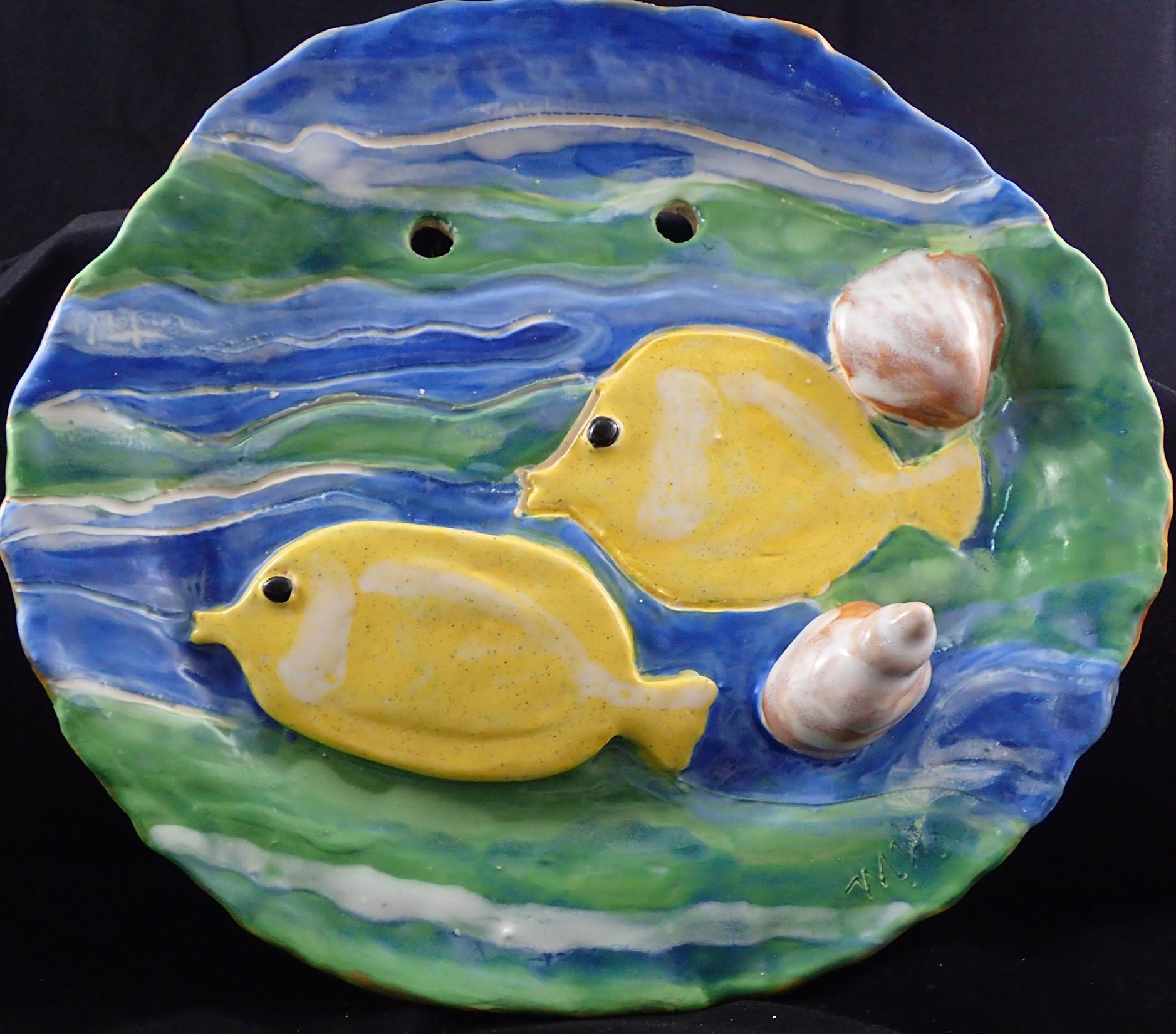 Yellow Tang Fish Wall Art – Molly Webb Art
