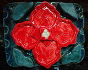 The Red Flower Tile